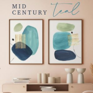 Mid Century Teal