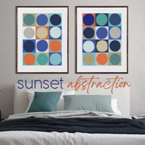 May 2021 - Sunset Abstraction