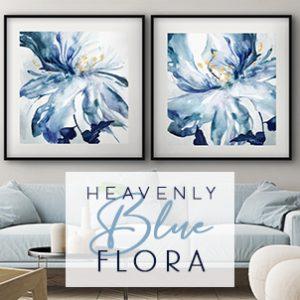 July 2021 - Heavenly Blue Flora
