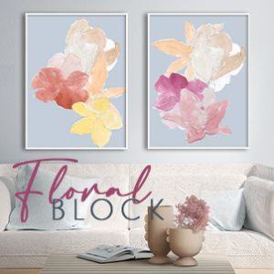 August 2021 - Floral Block